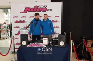 Juice FM Outside Broadcast Wilton Shopping Centre